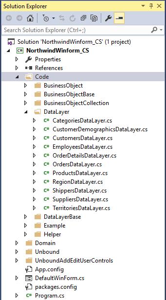 Data Layer Folder